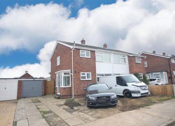 Thumbnail 3 bed semi-detached house for sale in Craigfield Avenue, Clacton-On-Sea