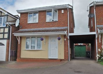 Thumbnail 3 bed detached house for sale in Stephen Bennett Close, Duston, Northampton