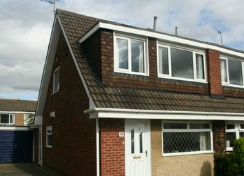 Thumbnail 3 bed semi-detached house for sale in Scarteen Close, Hunters Hill, Guisborough