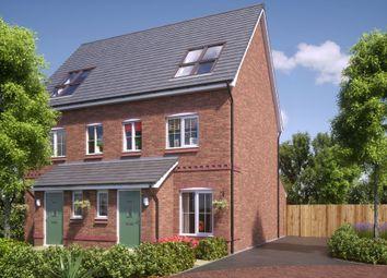 Thumbnail 3 bed semi-detached house for sale in Off Welsh Road, Deeside, Flintshire