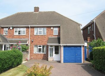 Thumbnail 3 bed semi-detached house for sale in Hobs Moat Road, Solihull