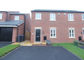 Thumbnail 3 bed property to rent in Ridgeway, Stoke Golding, Nuneaton