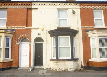 Thumbnail 3 bedroom terraced house to rent in Toft Street, Liverpool