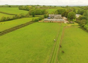 Thumbnail 4 bed equestrian property for sale in Chulmleigh, Devon