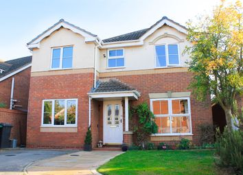 Thumbnail 4 bed detached house for sale in Peckover Close, Peterborough