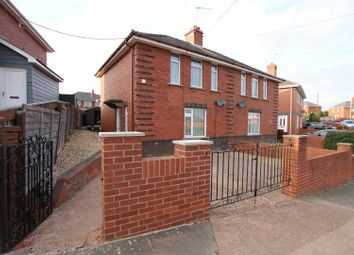 Thumbnail 3 bedroom semi-detached house for sale in Peryam Crescent, Exeter
