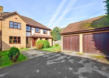 Thumbnail 4 bed detached house for sale in Shepherds Gate Drive, Weavering, Maidstone, Kent