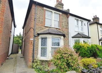 Thumbnail 3 bed semi-detached house for sale in Kingston Road, Leatherhead