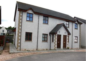 Thumbnail 2 bed flat to rent in 15 Knockomie Rise, Forres