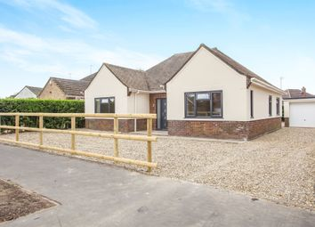 Thumbnail 4 bedroom detached bungalow for sale in South Wootton Lane, King's Lynn