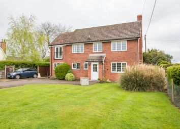 Thumbnail 4 bed detached house for sale in Brockley, Bury St Edmunds, Suffolk