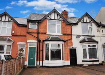 Thumbnail 3 bed terraced house for sale in Green Lanes, Sutton Coldfield