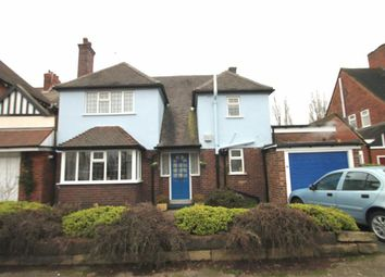 Thumbnail 3 bed detached house for sale in Selwyn Road, Edgbaston, Birmingham