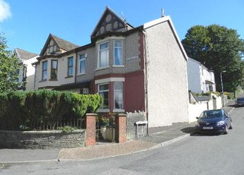 Thumbnail 4 bed semi-detached house for sale in Vicarage Road, Penygraig