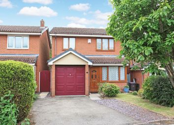 Thumbnail 3 bed detached house for sale in Brunlees Drive, Telford
