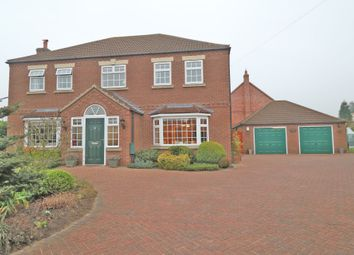 Thumbnail 4 bed detached house for sale in Akeferry Road, Westwoodside, Doncaster