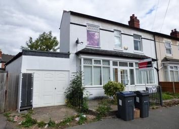 Thumbnail 3 bed end terrace house for sale in Boscombe Road, Birmingham, West Midlands