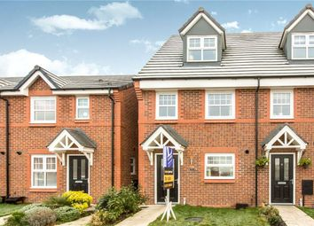 Thumbnail 3 bed town house for sale in Palmer Close, Moston, Sandbach