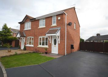 Thumbnail 2 bed semi-detached house for sale in Coleridge Drive, New Ferry, Wirral