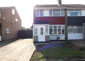 Thumbnail 3 bed semi-detached house for sale in Bondene Grove, Bishopsgarth, Stockton-On-Tees, Durham