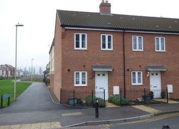 Thumbnail 2 bed end terrace house for sale in Rudloe Drive Kingsway, Quedgeley, Gloucester