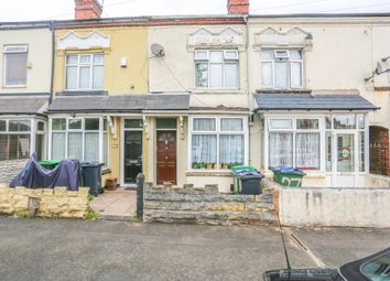 Thumbnail 3 bed terraced house for sale in Highbury Road, Smethwick