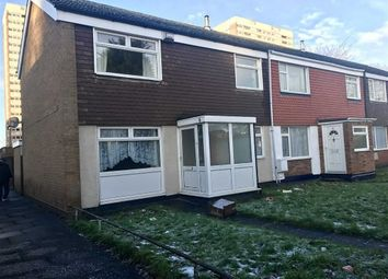Thumbnail 3 bed end terrace house to rent in Sundew Croft, Hodge Hill, Birmingham