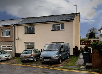 Thumbnail 2 bed flat for sale in Cemetery Road, Brynmawr, Ebbw Vale