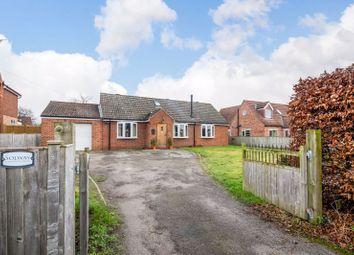Easingwold Road, Huby, York YO61. 4 bed detached bungalow for sale