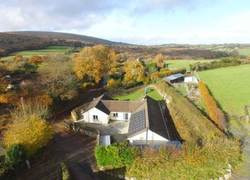Thumbnail 5 bedroom detached bungalow for sale in Throwleigh, Okehampton