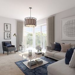 Thumbnail 2 bedroom flat for sale in Longwater Avenue, Green Park, Reading