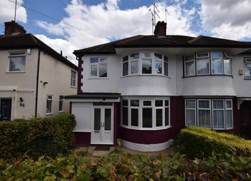 Thumbnail 3 bed semi-detached house to rent in Brook Avenue, Edgware