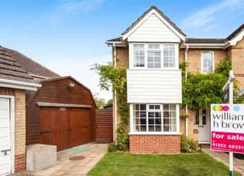 Thumbnail 3 bed end terrace house for sale in Kitson Gardens, Stretham, Ely
