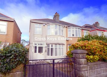 Thumbnail 3 bed semi-detached house to rent in Merrivale Road, Beacon Park, Plymouth