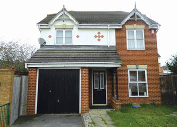 Thumbnail 3 bed detached house for sale in Neptune Close, Rainham