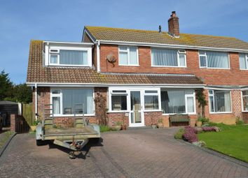 Thumbnail 4 bed semi-detached house for sale in Chafeys Avenue, Weymouth