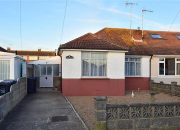 Thumbnail 3 bedroom semi-detached bungalow for sale in Gordon Road, Lancing, West Sussex