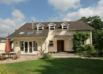 Thumbnail 5 bed detached house to rent in Dry Lane, Christow, Exeter