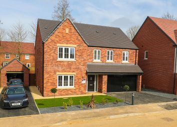 Thumbnail 5 bed detached house for sale in Boughton Road, Moulton, Northampton