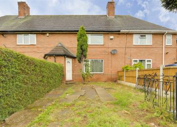 2 bed terraced house for sale in Highwood Avenue, Bilborough, Nottinghamshire NG8