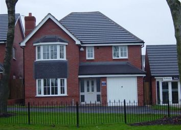 Thumbnail 4 bed detached house to rent in Aqua Place, Rugby