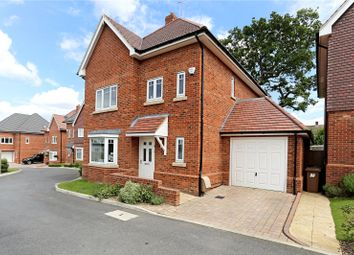 Thumbnail 4 bed detached house for sale in Woodcote Close, Bushey
