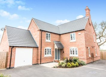 Thumbnail 4 bed detached house for sale in Gloster Road, Lutterworth