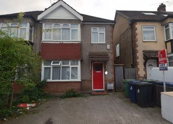 Thumbnail 3 bed semi-detached house to rent in Uneeda Drive, Greenford