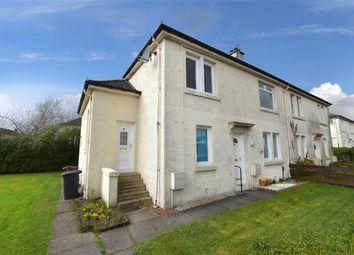 Thumbnail 2 bed flat for sale in Quarrelton Road, Johnstone