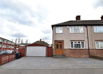Thumbnail 3 bed end terrace house for sale in Clarendon Gardens, Dartford, Kent