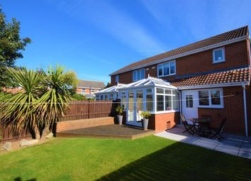 Thumbnail 3 bed semi-detached house for sale in Donerston Grove, Peterlee, County Durham