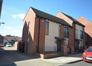 Thumbnail 3 bed semi-detached house for sale in Barring Street, Upton, Northampton