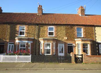 Thumbnail 2 bed terraced house for sale in Caley Street, Heacham, King's Lynn