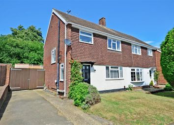 Thumbnail 3 bed semi-detached house for sale in Spruce Close, Larkfield, Aylesford, Kent